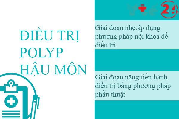 Điều trị bệnh polyp hậu môn
