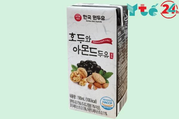 Đối tượng sử dụng sữa óc chó mè đen Hàn Quốc