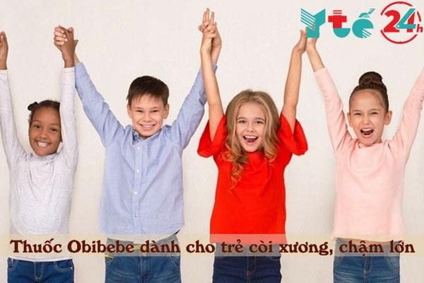 Thuốc ống Obibebe dùng cho những đối tượng nào?
