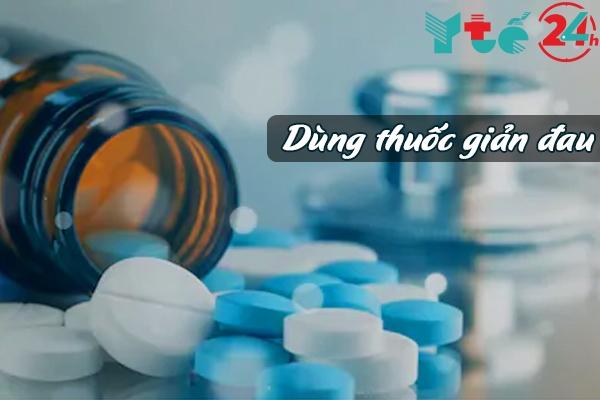 Có thể Dùng thuốc giảm đau khi bị bỏng