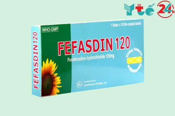 Fefasdin 120 mg là thuốc gì?