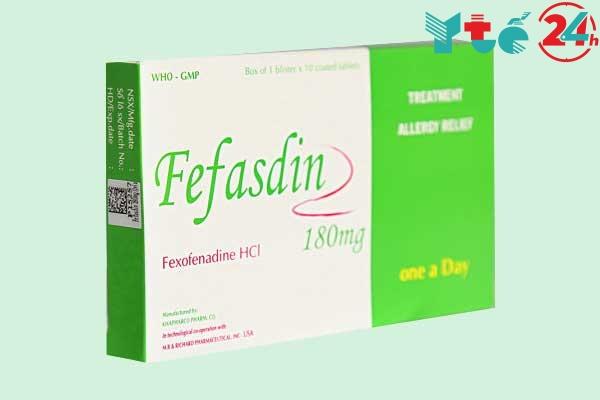 Thuốc Fefasdin 180mg là gì?