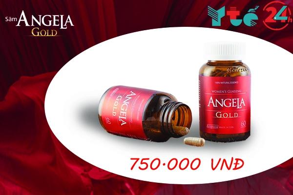Giá bán của Sâm Angela Gold