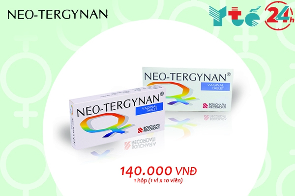 Gía bán của thuốc đặt phụ khoa Neo-tergynan