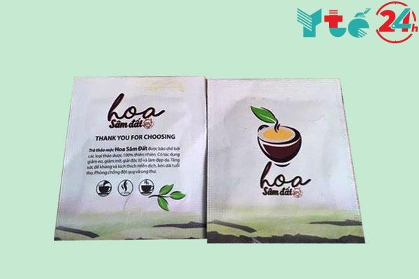 Uống trà Hoa Sâm Đất có tác hại gì không?