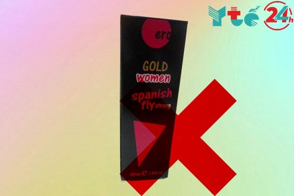 Hình ảnh: một số hàng nhái của sản phẩm Gold Fly