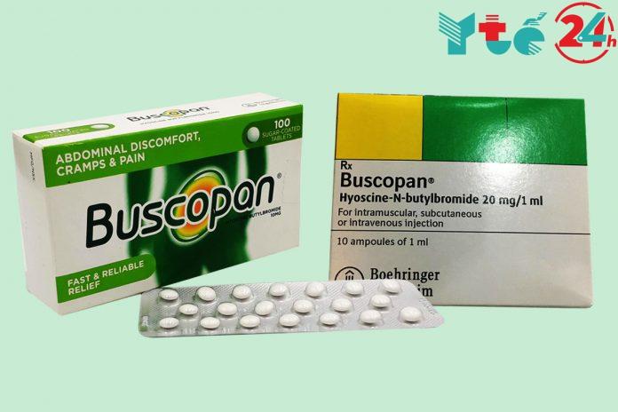 Buscopan - làm giảm các cơn đau bụng nhanh chóng