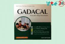 Gadacal dạng ống - tăng cường hệ miễn dịch của trẻ