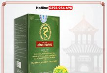 Dạ dày Đinh Hoàng : Giảm đau nhanh – Lành vết loét