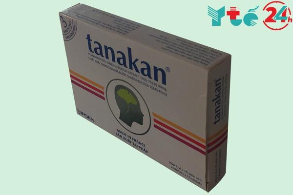 Hộp thuốc bổ não Tanakan