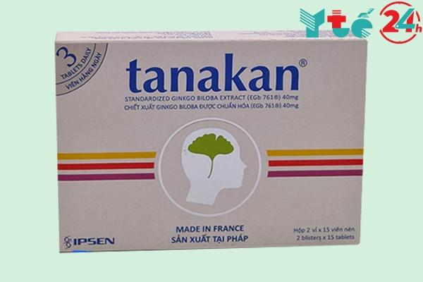 Hộp thuốc bổ não Tanaka