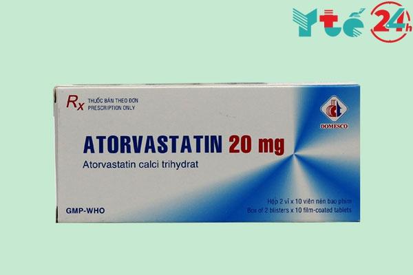 Thuốc Atorvastatin 10mg/ 20mg là gì?