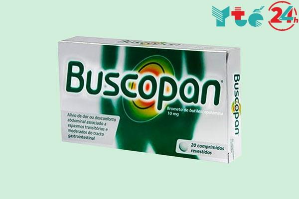 Thuốc Buscopan có tác dụng phụ không?