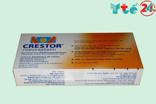 Cách bảo quản thuốc Crestor