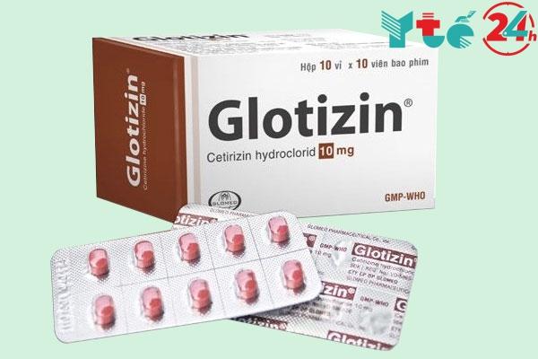 Hộp thuốc Glotizin