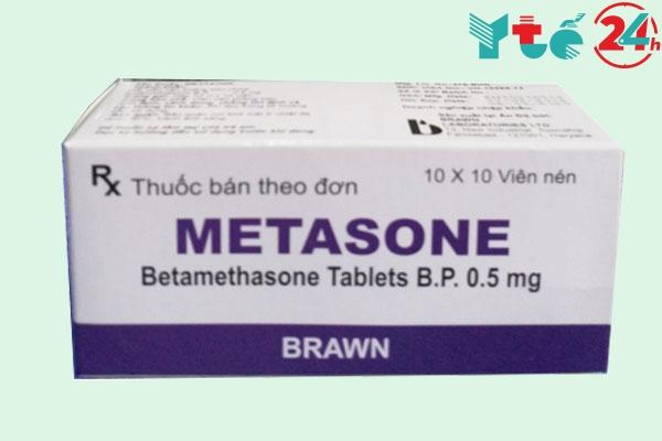 Metasone là thuốc gì?