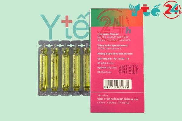 Lưu ý gì khi sử dụng thuốc ống Obibebe 10ml