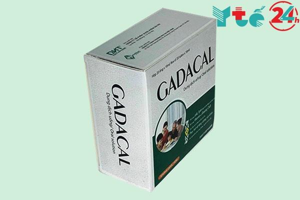 Thuốc Gadacal có công dụng gì?