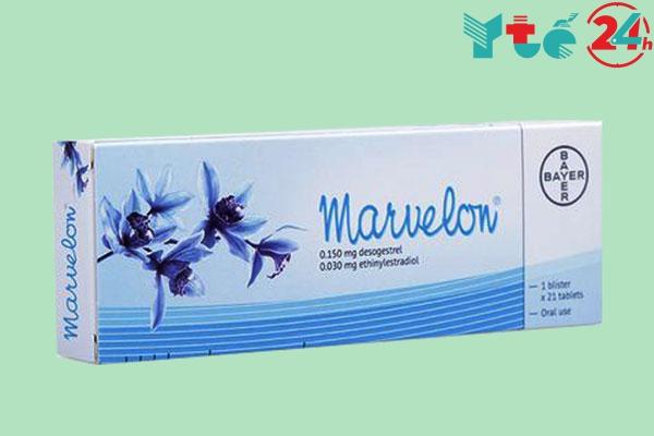 Uống nhầm thứ tự thuốc tránh thai Marvelon 21 viên