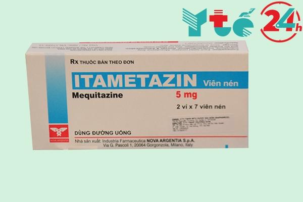 Thành phần của Itametazin