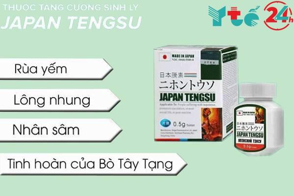 Thành phần chính của Japan Tengsu