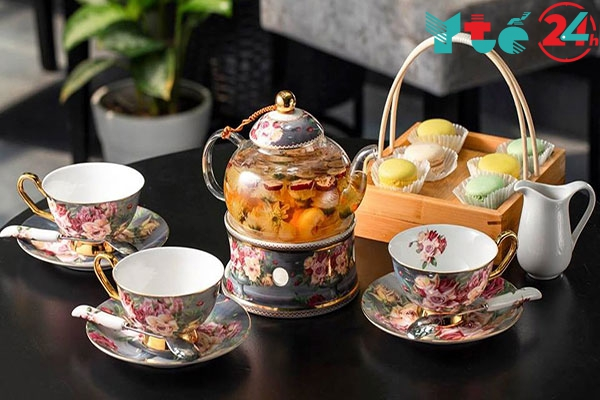 Uống trà hoa cúc đúng cách