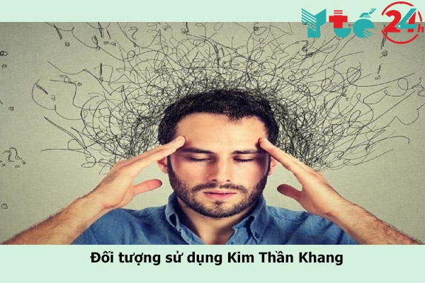 Kim Thần Khang đối tượng sử dụng