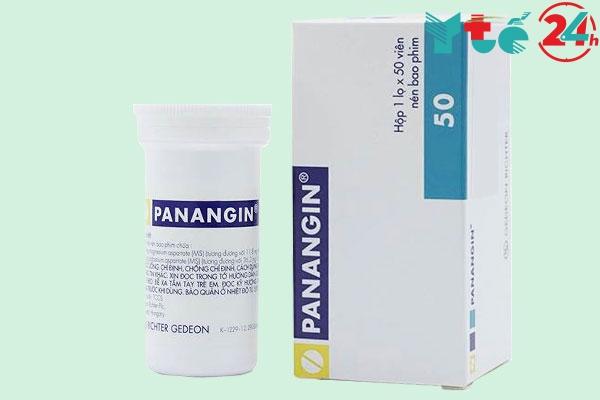 Thận trọng khi sử dụng thuốc Panangin