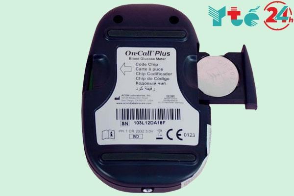 Máy đo đường huyết On Call Plus được sản xuất ở đâu?