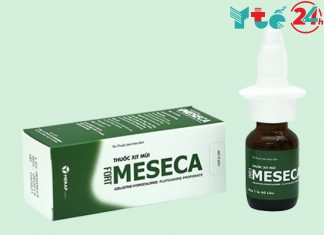Thuốc xịt mũi Meseca
