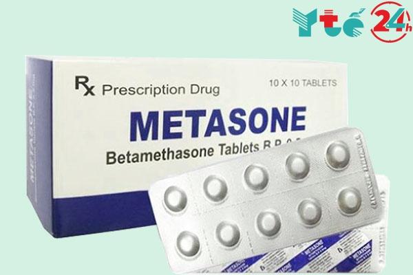 Metasone có tác dụng gì?