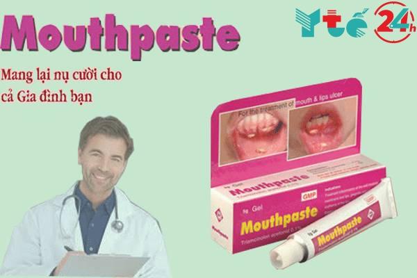 Tác dụng phụ Mouthpaste