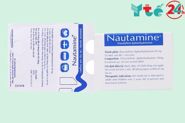 Thuốc say xe Nautamine: Cách dùng liều dùng và có tác dụng bao lâu?
