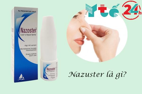 Thuốc Nazoster 0.05% chữa bệnh gì?