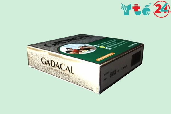 Thuốc ống Gadacal có tốt không?