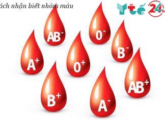 Cách nhận biết nhóm máu