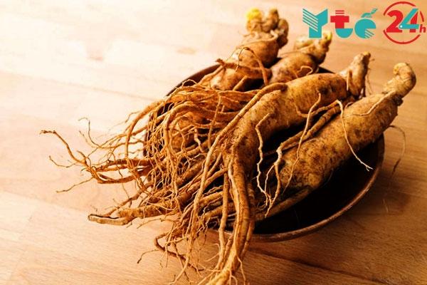 Rễ nhân sâm là dược liệu quý có trong thuốc Xtrazex