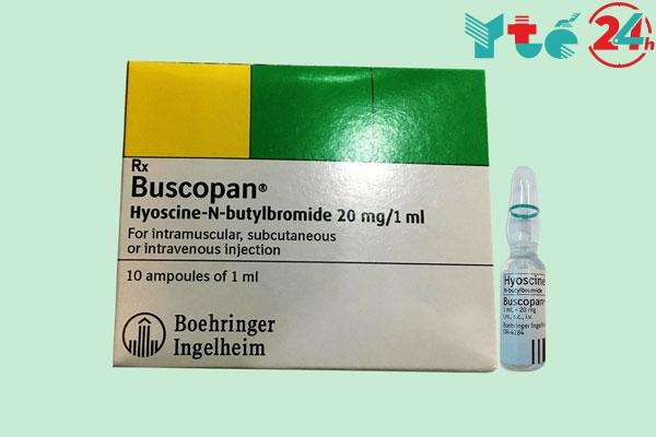 Liều dùng ở dạng thuốc tiêm Buscopan