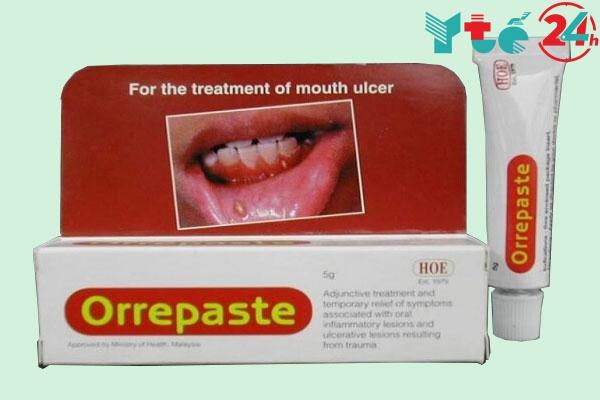 Orrepaste là thuốc gì?