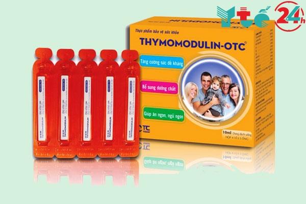 Dạng ống uống trực tiếp Thymomodulin-OTC dùng được ở mọi lứa tuổi
