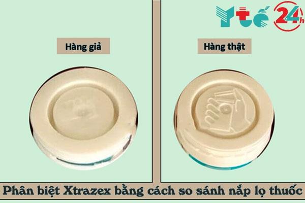 Hướng dẫn phân biệt Xtrazex giả và thật