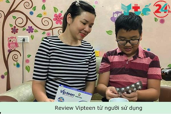 Review Vipteen từ người sử dụng