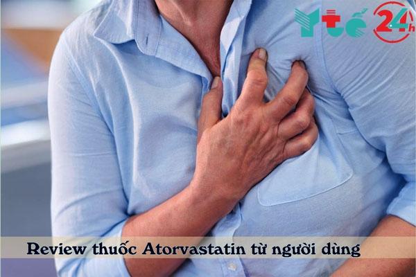 Những review tích cực từ người sử dụng thuốcAtorvastatin