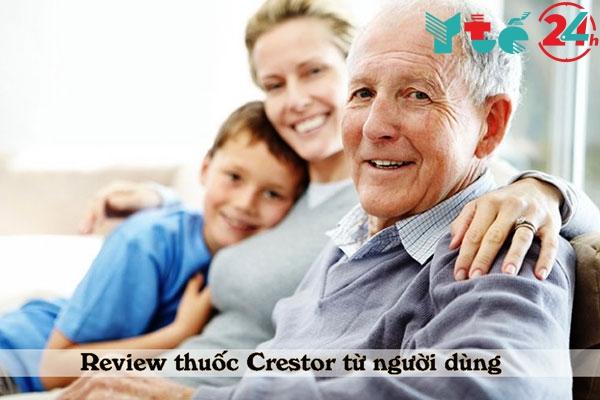 Những review thuốc Crestor từ người sử dụng