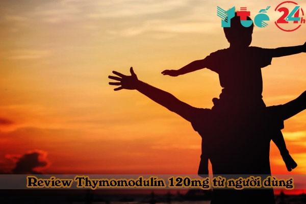 Những review tích cực từ người sử dụng Thymomodulin