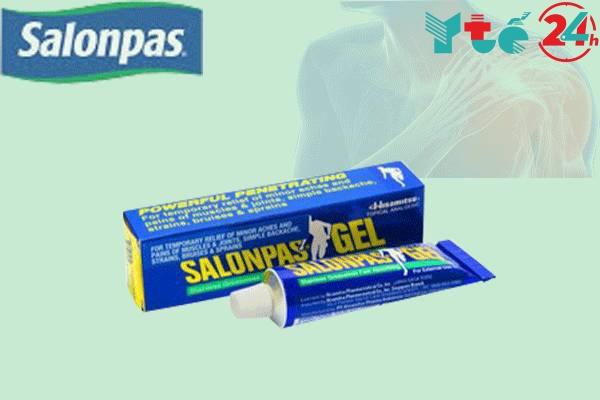 Lưu ý khi sử dụng Salonpas Gel