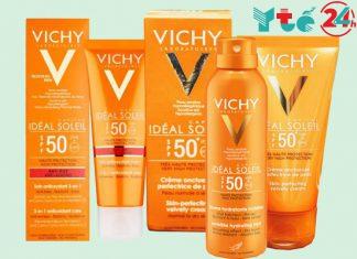 Tươi sáng làn da với kem chống nắng Vinchy