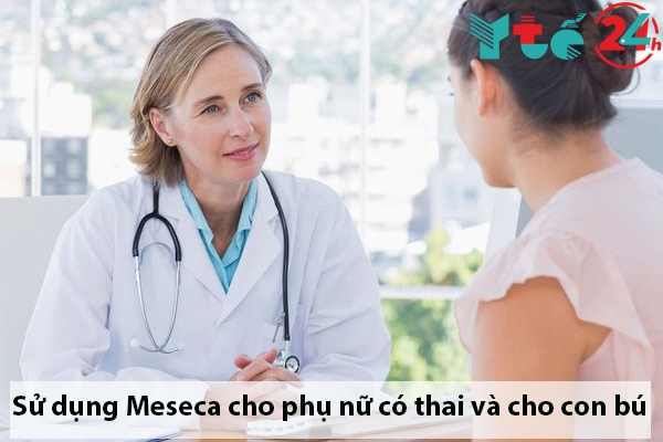 Sử dụng thuốc xịt mũi Meseca cho phụ nữ có thai và cho con bú