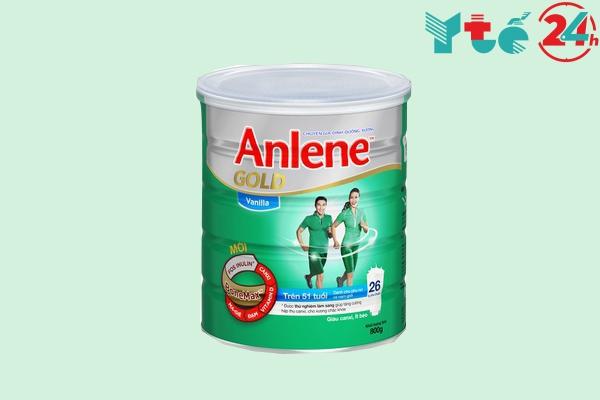 Sữa Anlene Gold Vani