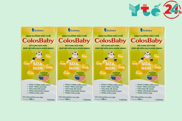 Sữa bột Colosbaby pha sẵn